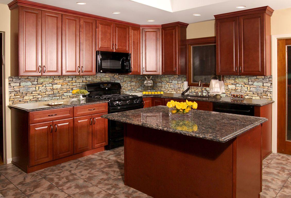 Hallmark Brandy Shaker Kitchen Cabinets Kitchen Cabinet Outlet