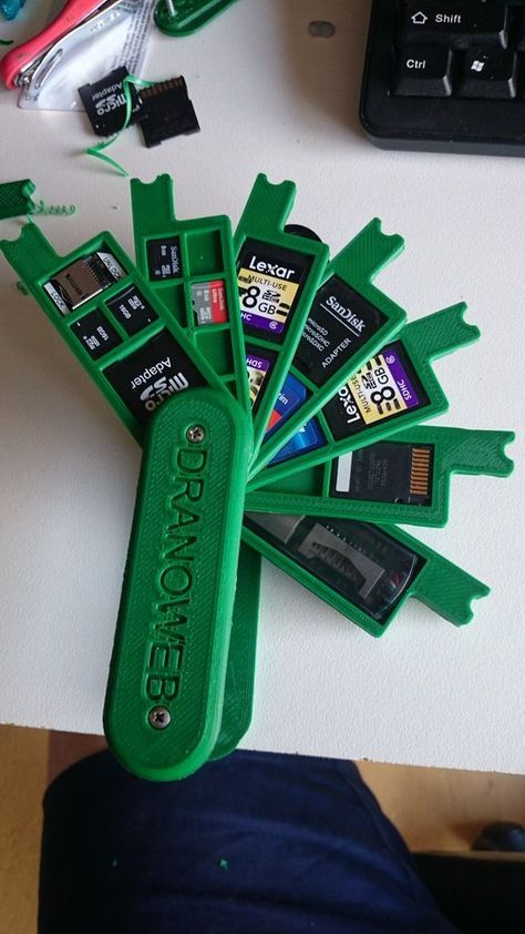 If you need access to a lot of SD cards and you need them…