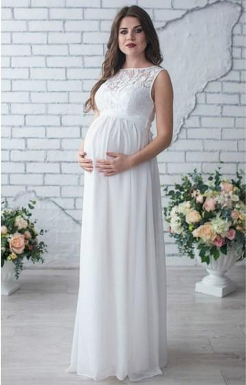 8219d8fae3717 Maternity Dress Pregnancy Clothes Pregnant Women Lady Elegant Gown Vestidos  Sexy Lace Maxi Dress Party Formal Evening Dress