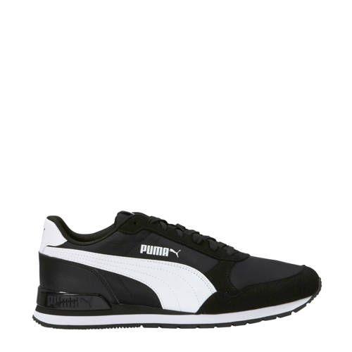 Puma ST Runner v2 NL sneakers zwart/wit - Zwart wit, Zwart ...