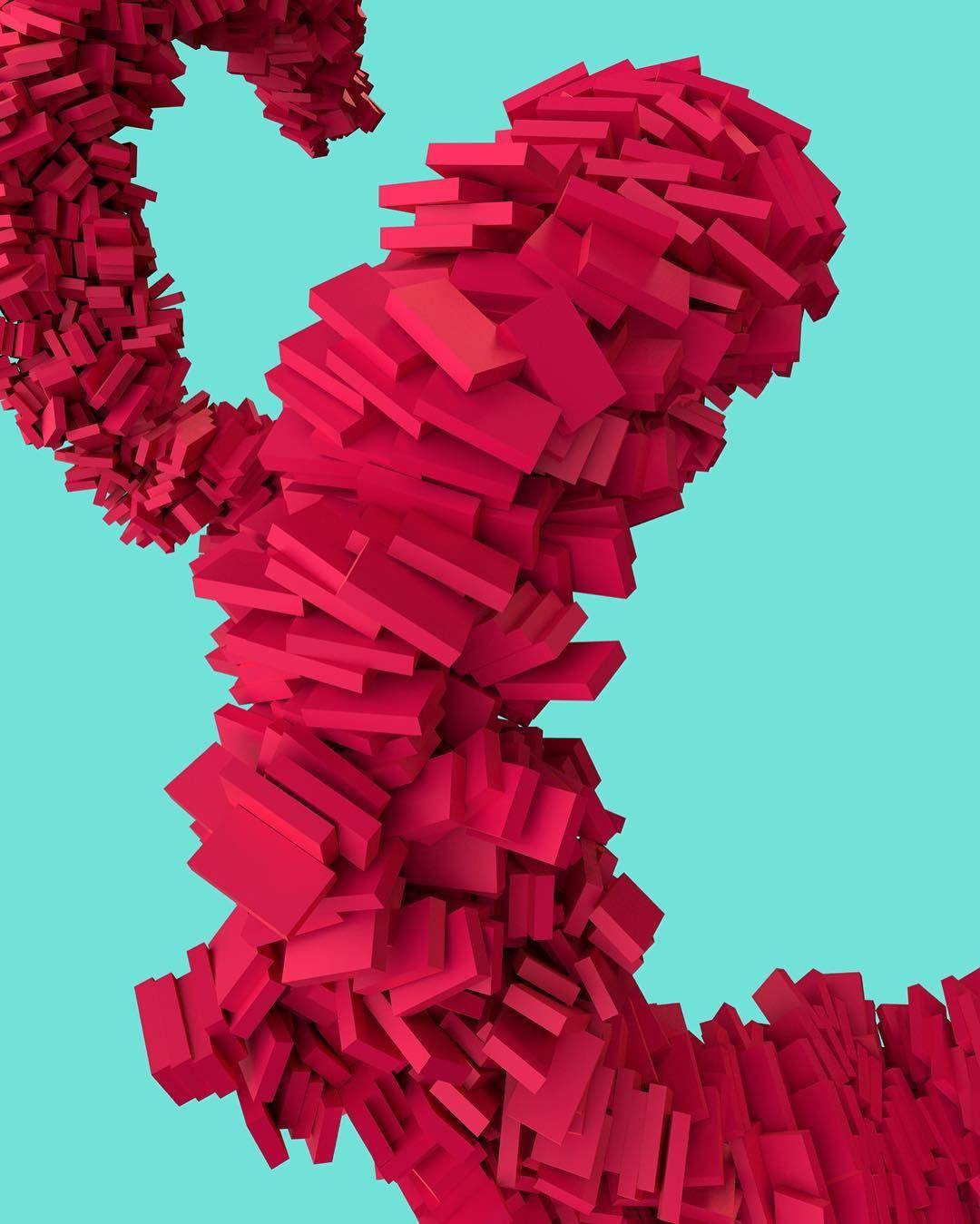 'Swirly Thing' Artwork 2016  #digitalart #illustration #abstractart #c4d #cinema4d #designlife #designporn #designstudio #graphicartist by dnyivn