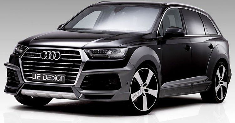 Je-Design Already Thinks The Audi SQ7 Needs A Sportier Look #Audi #Audi_SQ7