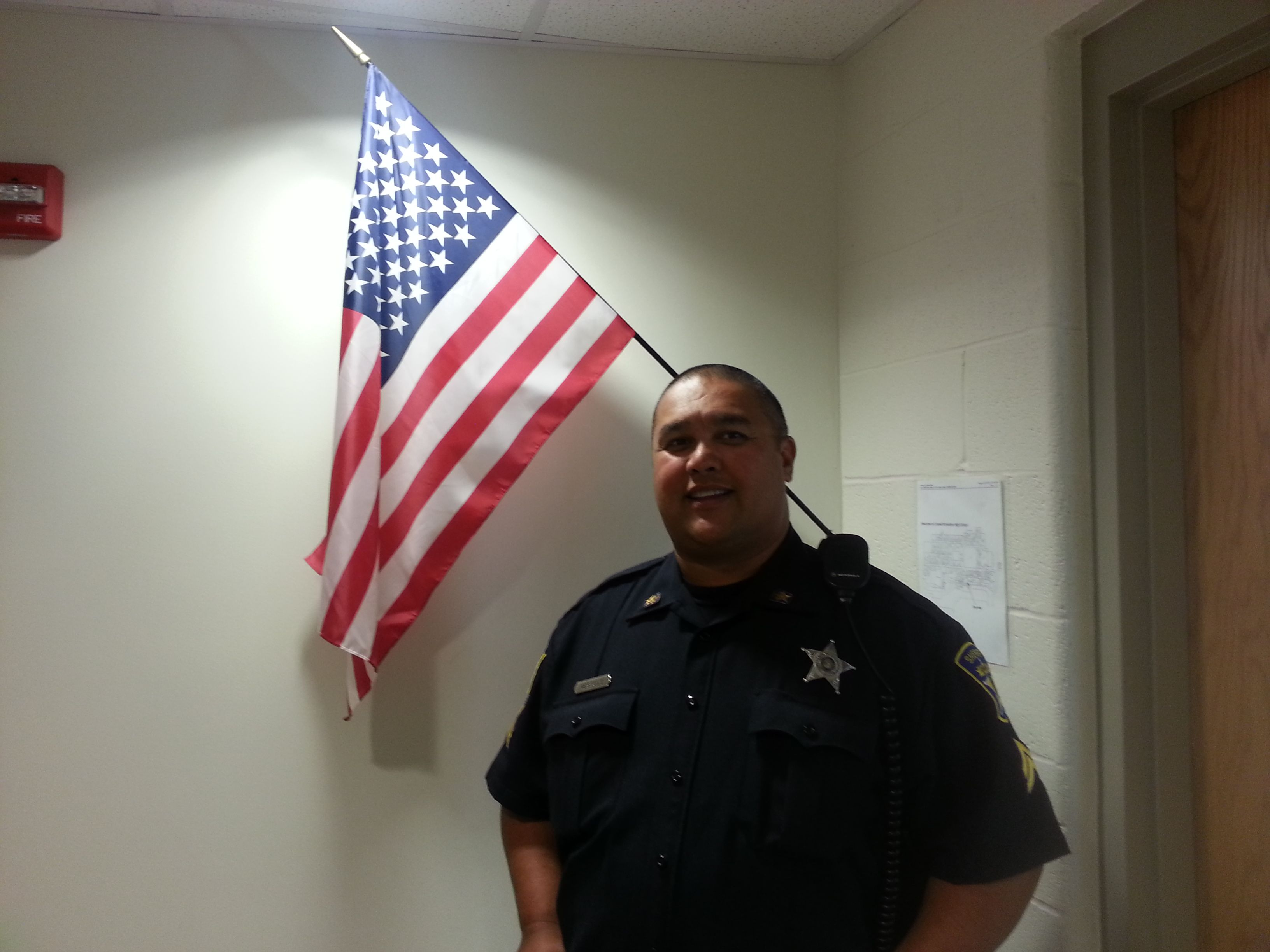 Cpl michale gestole of the caroline county sheriffs