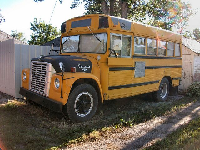 International School Bus By Dave 7 Via Flickr With Images