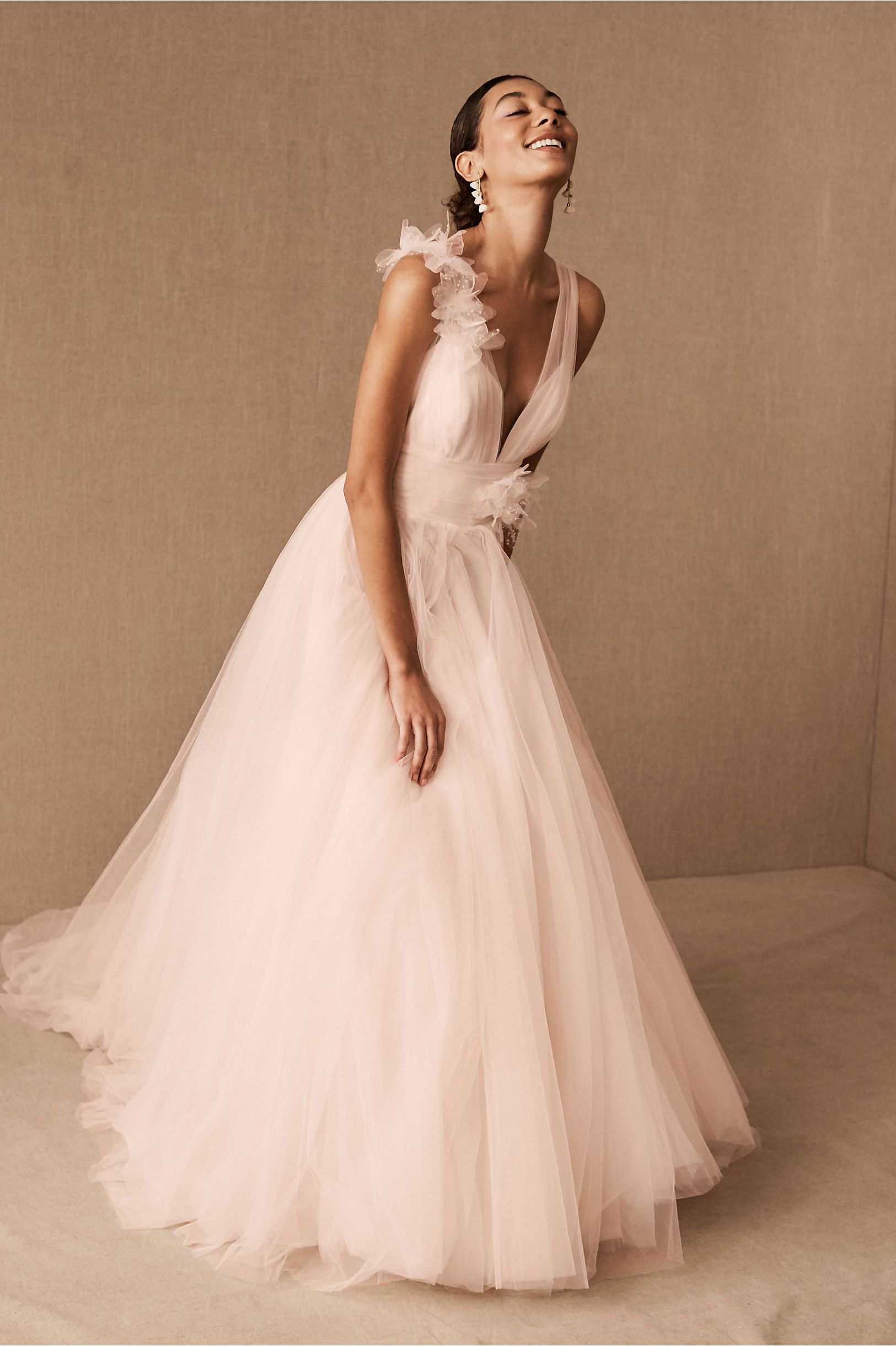 Wtoo By Watters Chrysa Gown Bhldn Wedding Dress Green Wedding Dresses Blush Pink Wedding Dress