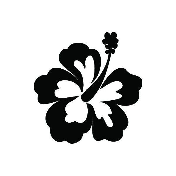 Hibiscus Glitter Tattoo Stencil Henna Stencil Flower