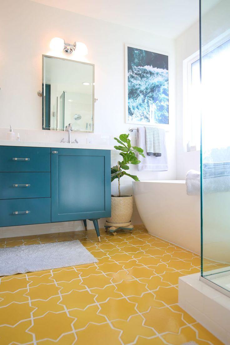 Photo of Bright Master Bathroom