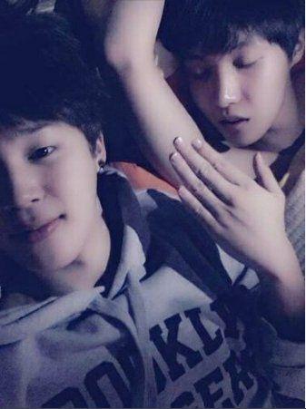 Omg This Looks Like Jimin Is Just Caressing Hoseok S Armpit
