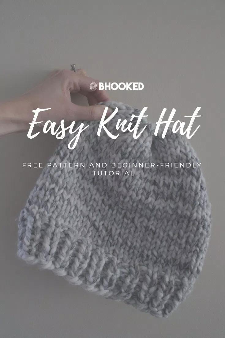 Photo of Einfache Strickmütze – Wie man eine Mütze für Anfänger strickt