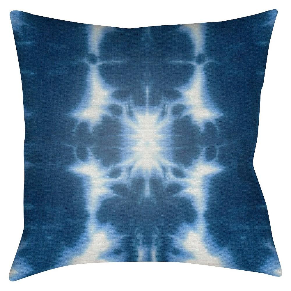 "Bariri Throw Pillow - Blue - 16"" x 16"" - Surya"