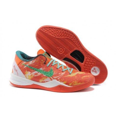 best website 0c03a a108e Nike Kobe 8 Olympic Orange Green