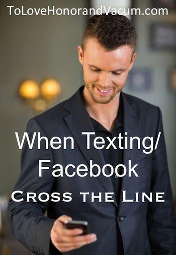 texting betrügt in einer Ehe