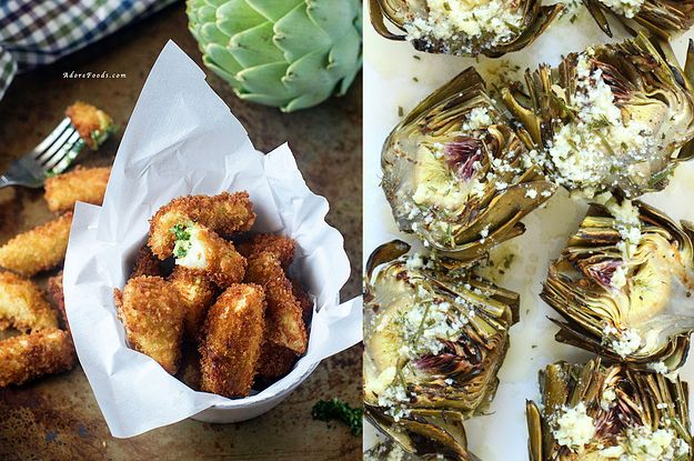 17 Heavenly Ways To Eat An Artichoke