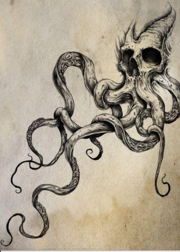 Cool Idea Tattoos Tattoos Octopus Tattoos Y Tattoo Designs