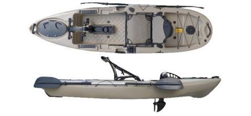 NEW PedalFish 10 Pedal Kayak Pedal kayak, Kayaking