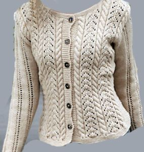 fish tail and cable lace knitting pattern - Yahoo Image ...