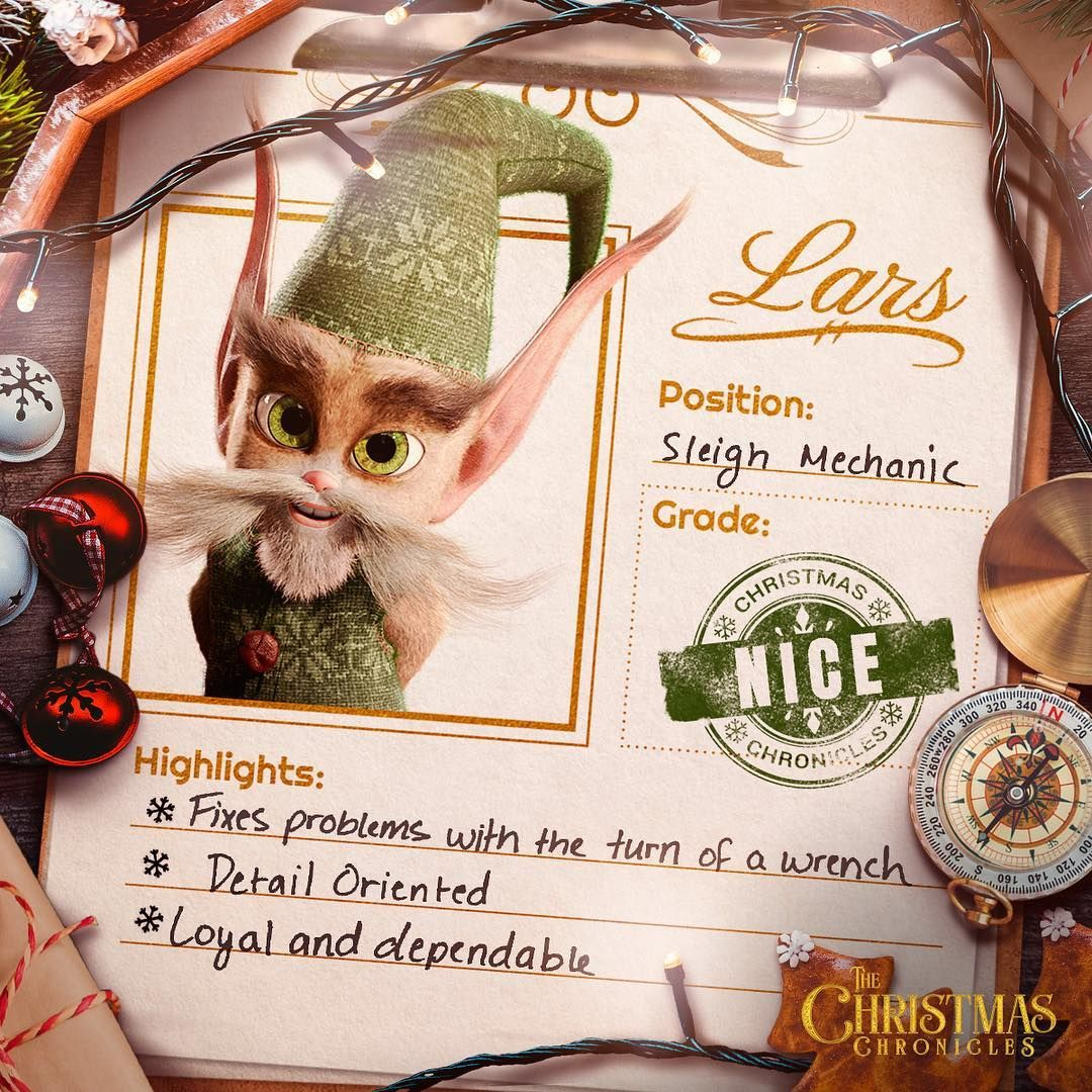 Christmas Chronicles Sleigh.Lars Sleighs All Day The Christmas Chronicles In 2019