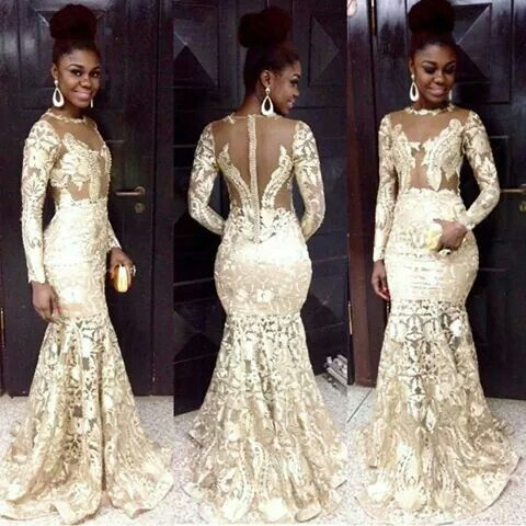 Omg Gold Lace Latest African Fashion African Prints African