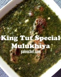 Hey Ya Mulukhiyah Soup Mary The Paleo Chef Molokhia Recipe Recipes Egyptian Food