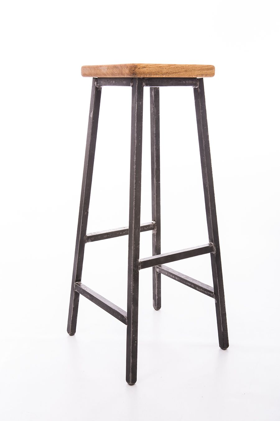 Luxury Metal Wood Bar Stool