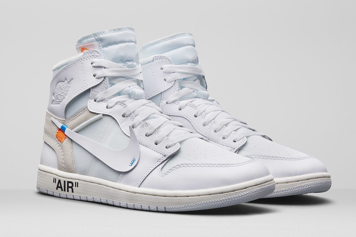 best service fa0e6 d679d We now have our closest look yet at the upcoming OFF–WHITE x Nike Air Jordan  1 in all-white. Check it out here.