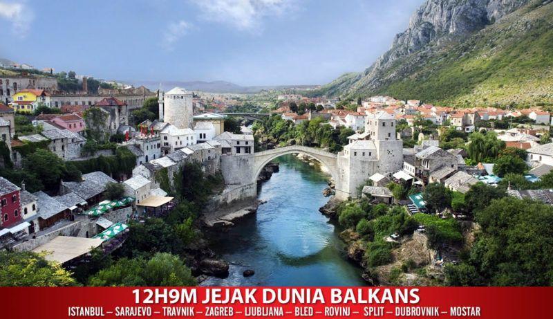 Pakej 2h9m Jejak Dunia Balkan Rm8 977 Pakej Muslim Balkan Melawat Istanbul Sarajevo Travnik Zagreb Ljubljana Ble Places To Travel Mostar Places To Visit