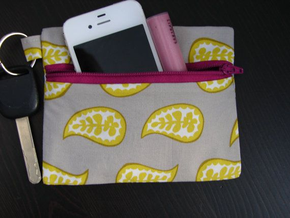 Anneliese Keychain Wallet by Stitch248 on Etsy, $12
