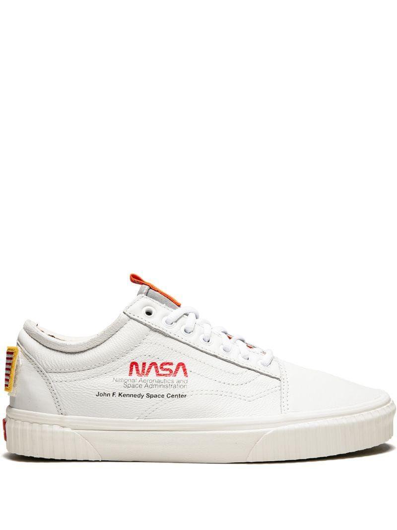 Vans NASA x Vans Old Skool sneakers White | Hype shoes