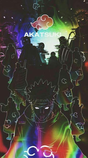 Papel de parede da Akatsuki do anime Naruto | wallpaper da Akatsuki em HD