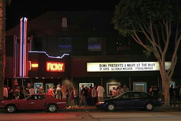 The Roxy In L A Sunset Strip Dream City West Hollywood