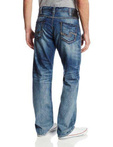 Silver Jeans Mens Grayson Straight, Indigo, 31x34