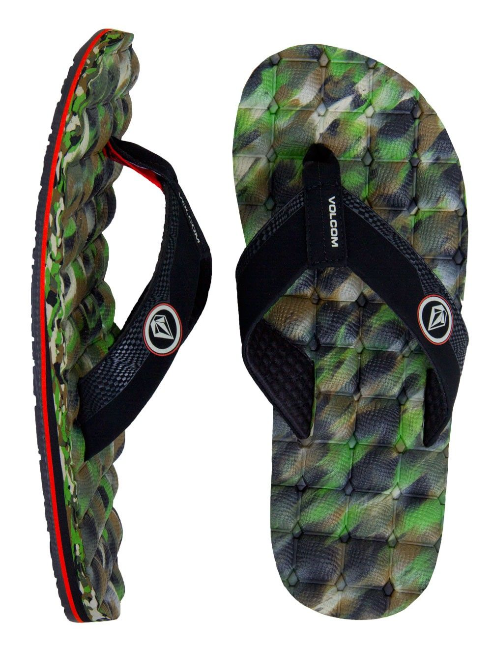 189ad4ae4591 Volcom Recliner Sandals    Camouflage