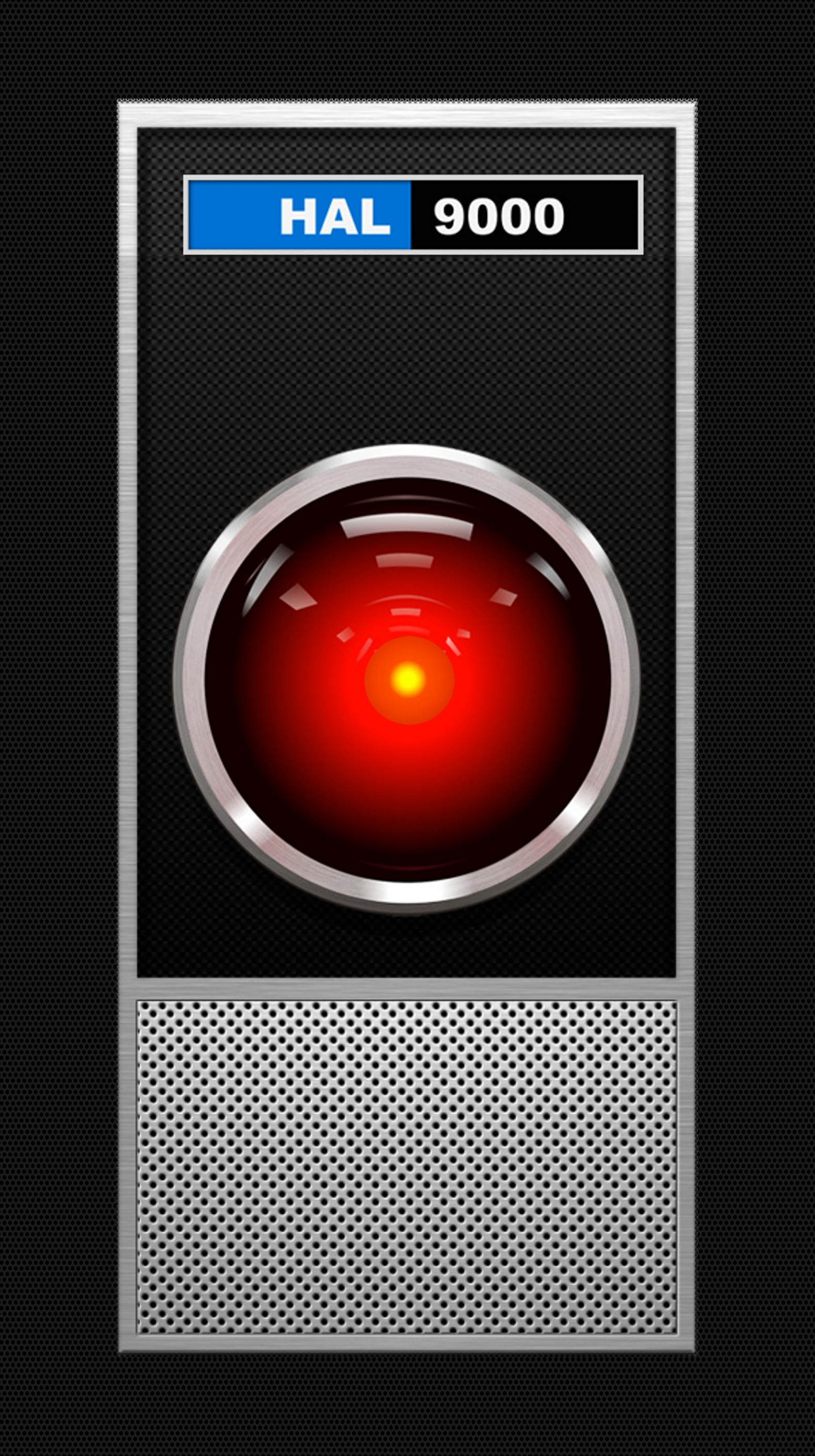 2001 Hal9000 Interface Active Lock Screen Wallpaper For Iphone X Parallax View Time Fits Perfectly Int Iphone Wallpaper Lock Screen Wallpaper Screen Wallpaper