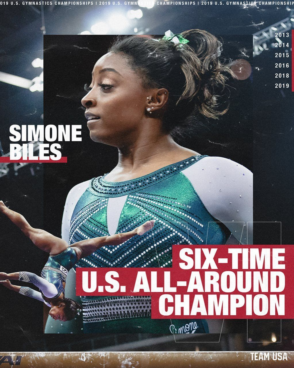 """Team USA on Instagram """"simonebiles is the first woman in"""