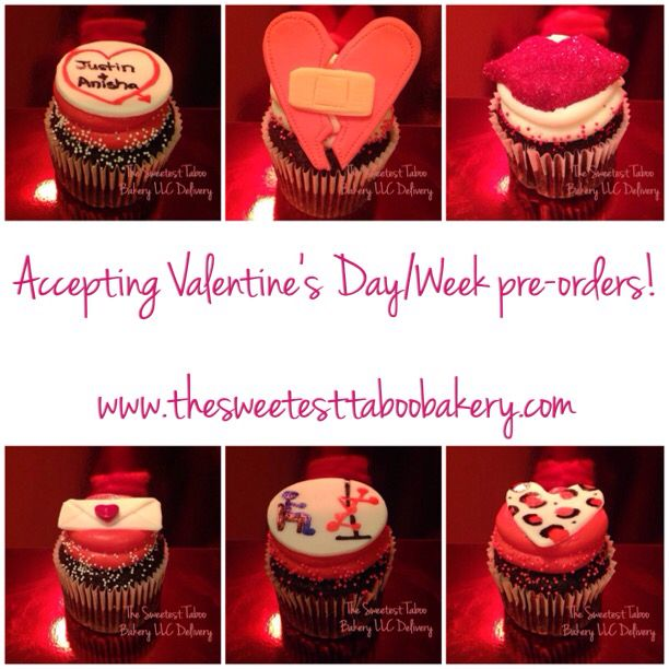 #ValentinesDay #Sweetheart #Love #Holiday #Cupcakes #HolidayCupcakes #ValentinesCupcakes #Desserts #Food #Sweets #Bakery #Heart #Kiss #Edible #Gifts #Events