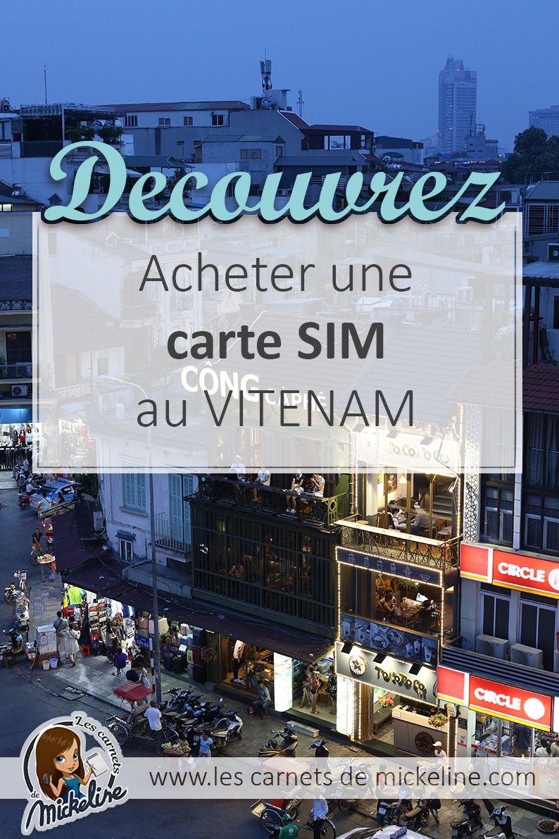 Acheter Une Carte Sim Locale Au Vitenam Pour Profiter De La 4g