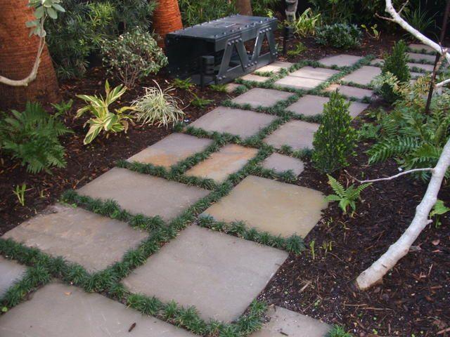 100 Pervious Walkway Bluestone Stepping Stones Garden Stepping Stones Stepping Stone Paths Stepping Stones