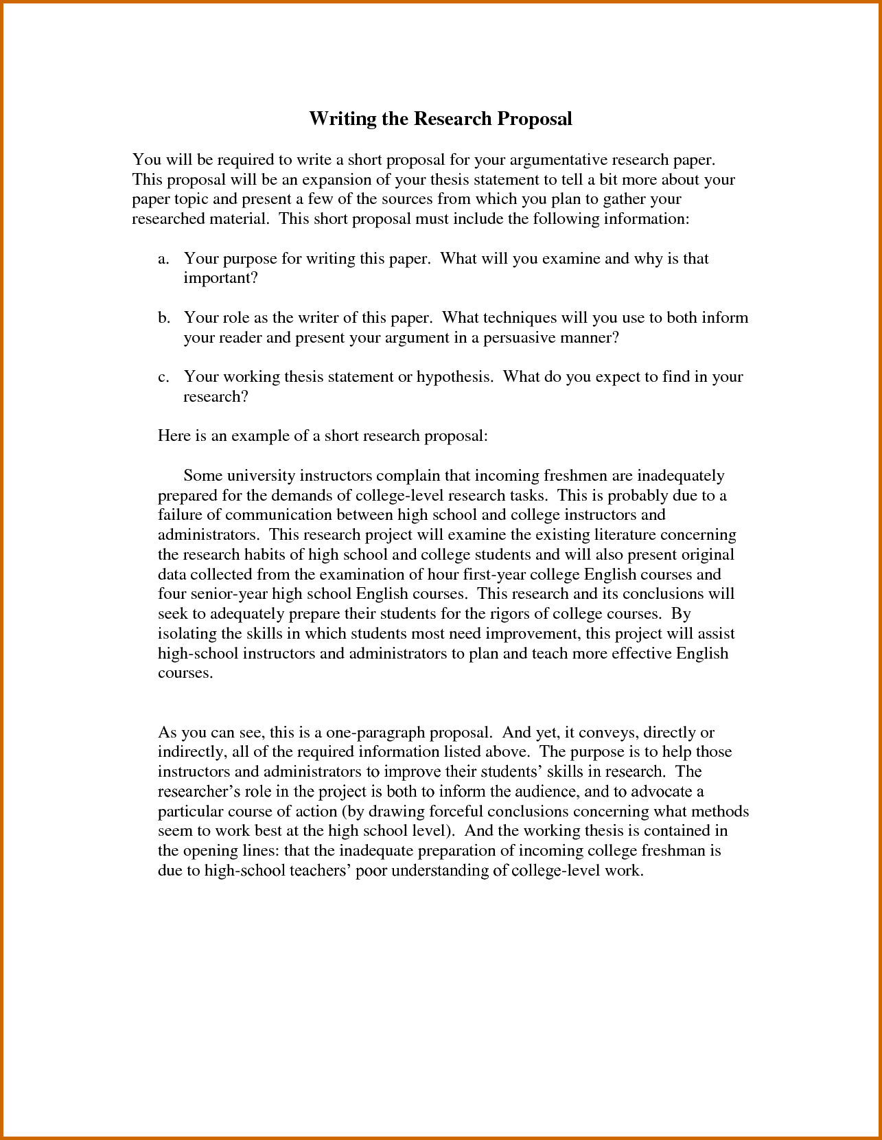 Writing A Proposal For A Research Paper Proposal Writing Project Proposal Template Proposal Paper