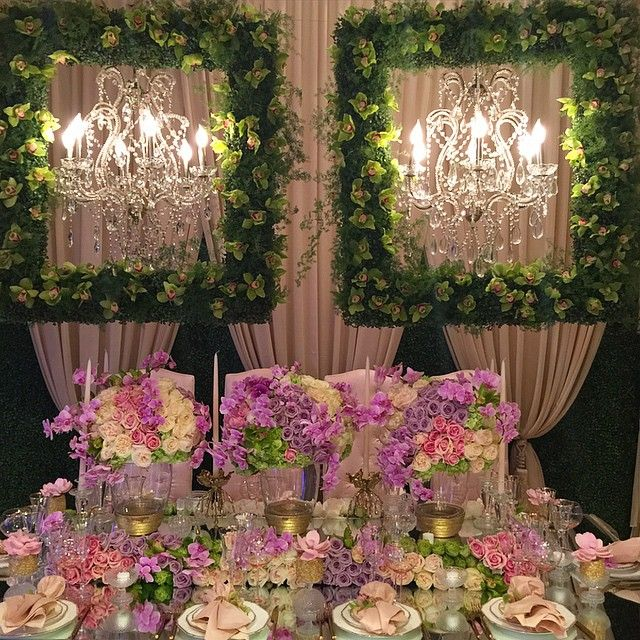 I am so happy with our work today style by @celiosdesign and @alianaevents we create this beauty.