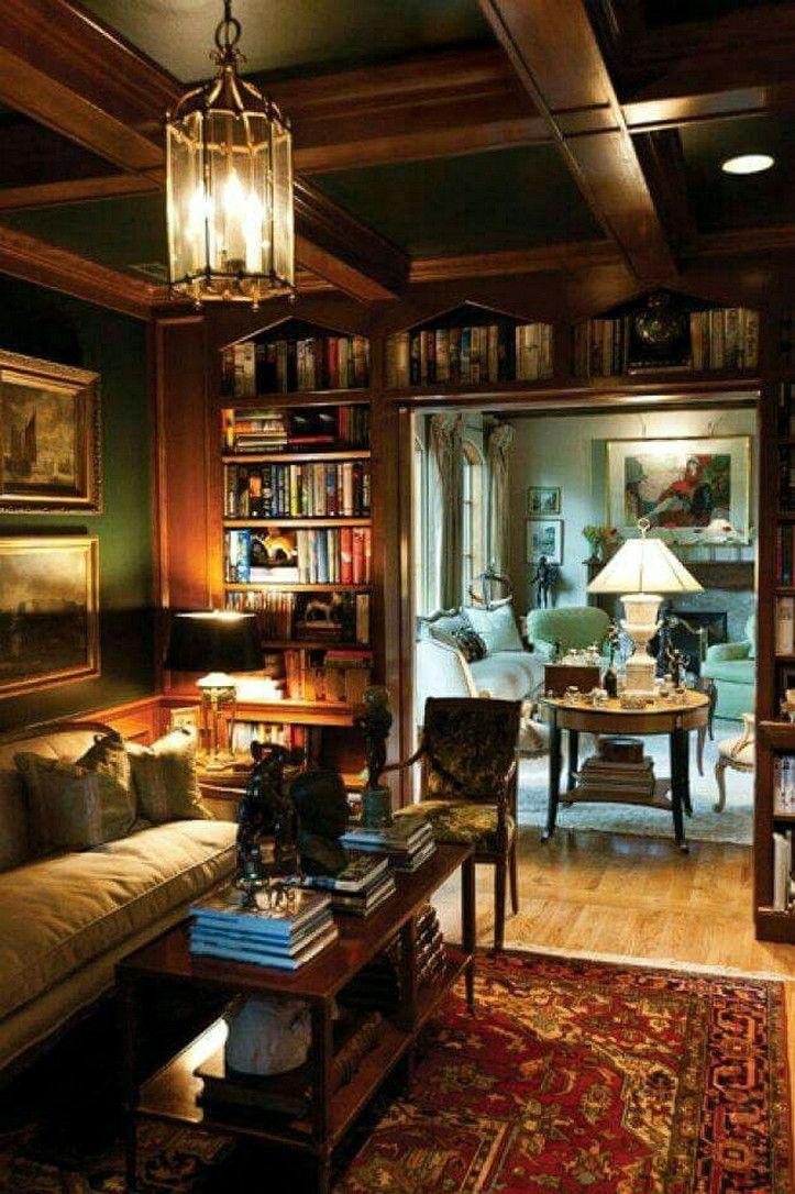 Living Room Library Design Ideas: Unique Home Library Design Ideas