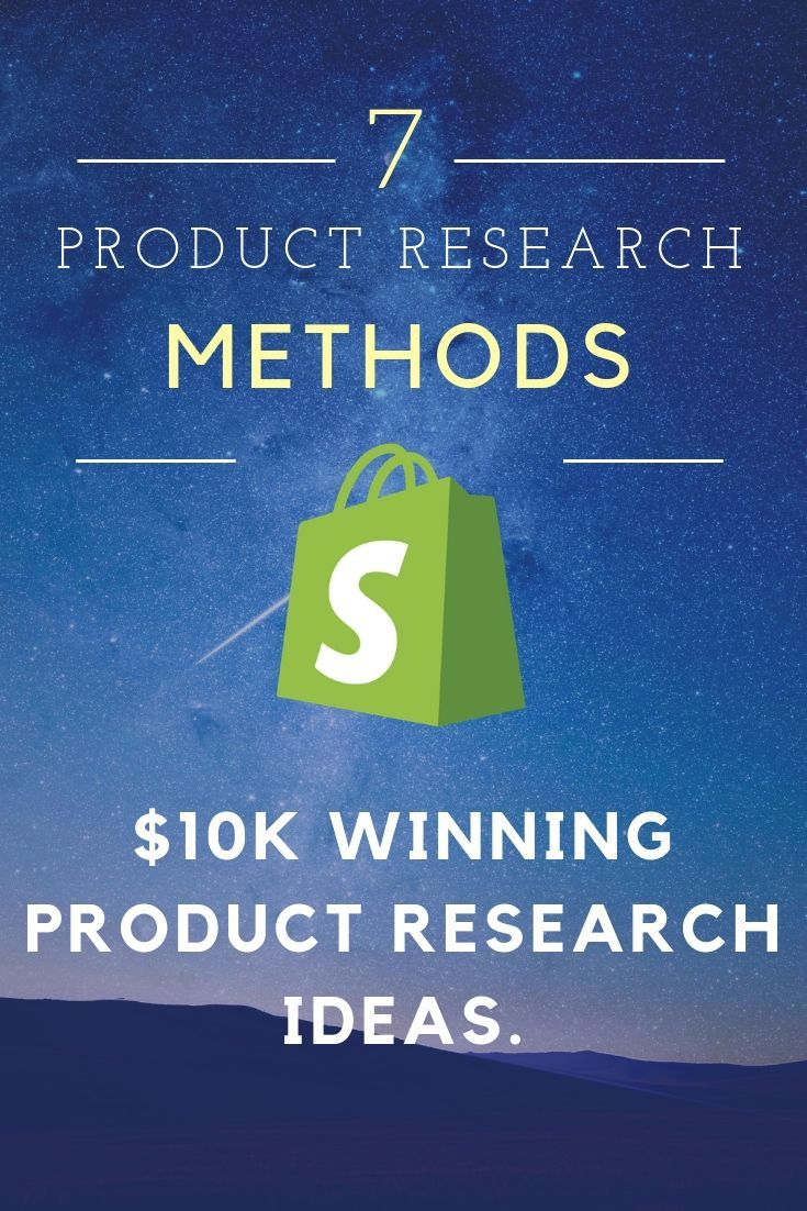 How to Find Winning Products to Sell on Shopify. Shopify