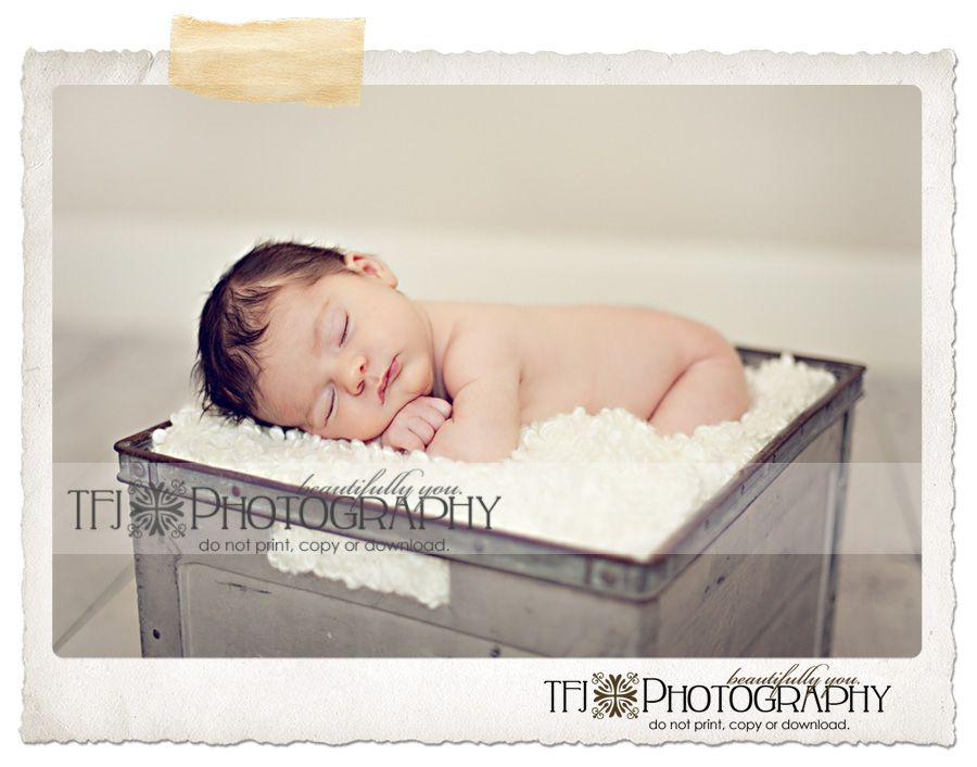 Applying the 5 S's to Newborn Photography