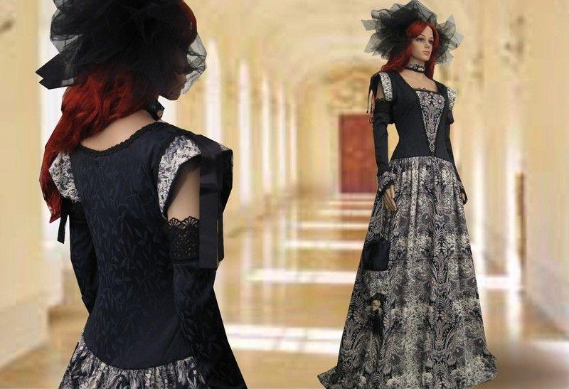 Traum Kleid *MORGANE LE FAY* Mittelalter Gothic 38 von SOL ET LUNA auf DaWanda.com