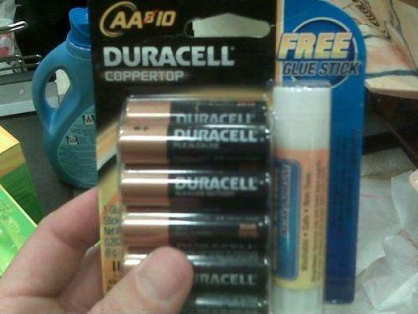 hmmm....hell yeah, free glue stick! o.O