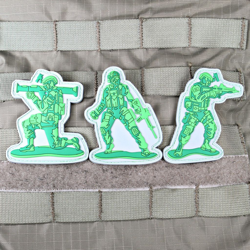 Operator Army Men Patch Set