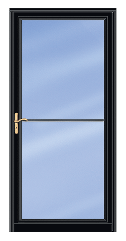 Andersen Storm Doors Contemporary Single Vent Full Lite Clear Glass Storm Door Andersen Storm Doors Glass Storm Doors Clear Glass