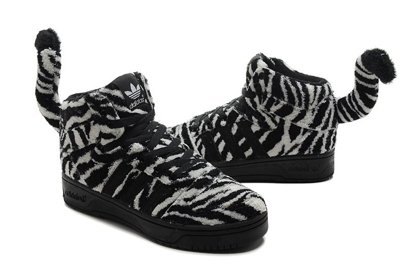 Jeremy Scott Zebra Adidas