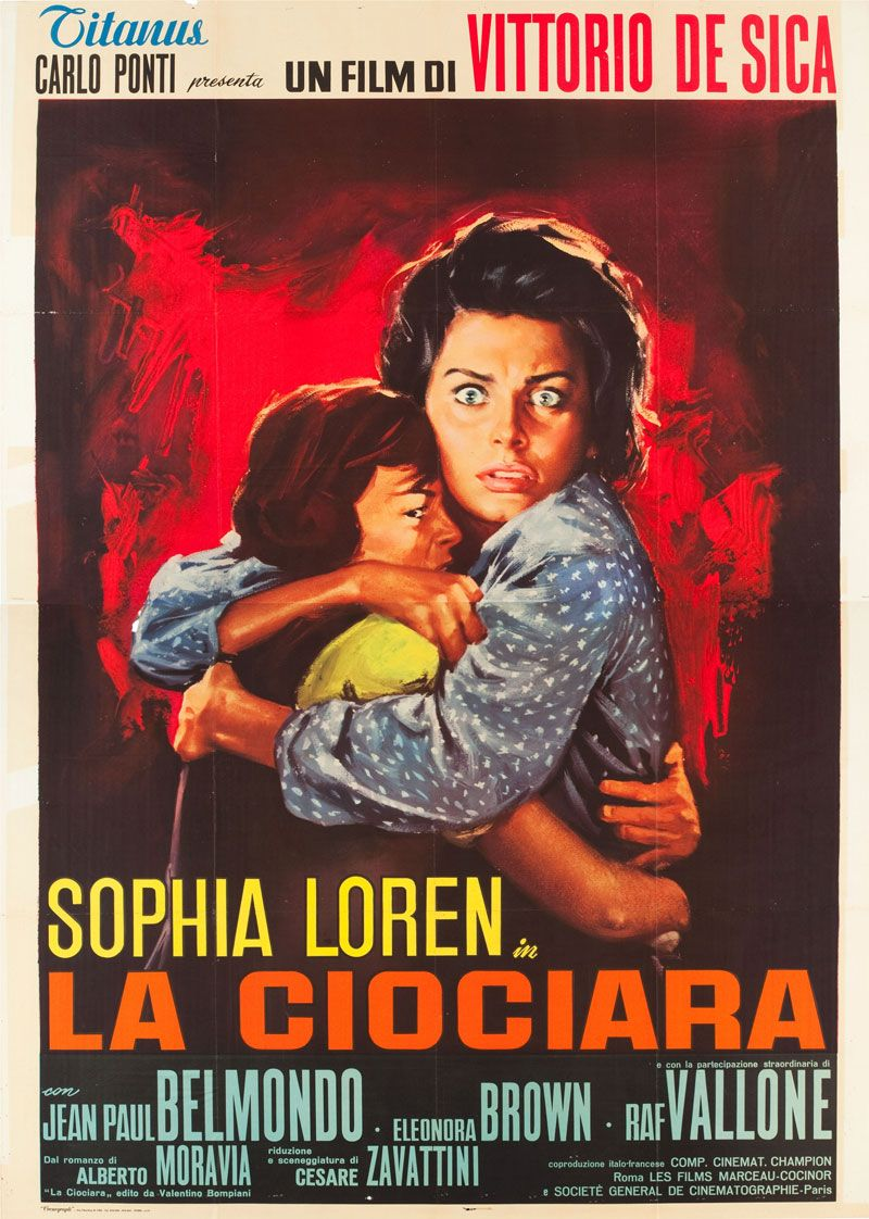 italian 4foglio for two women vittorio de sica italy