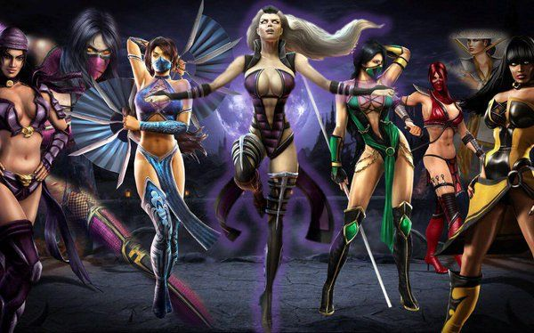 Some Female Characters Of Mk This Goes Along With The Comparison