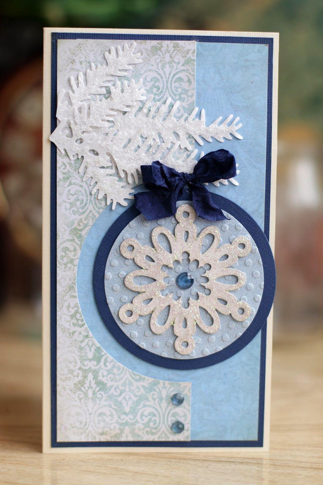 открытки в стиле скрапбукинг своими руками пошагово к новому году